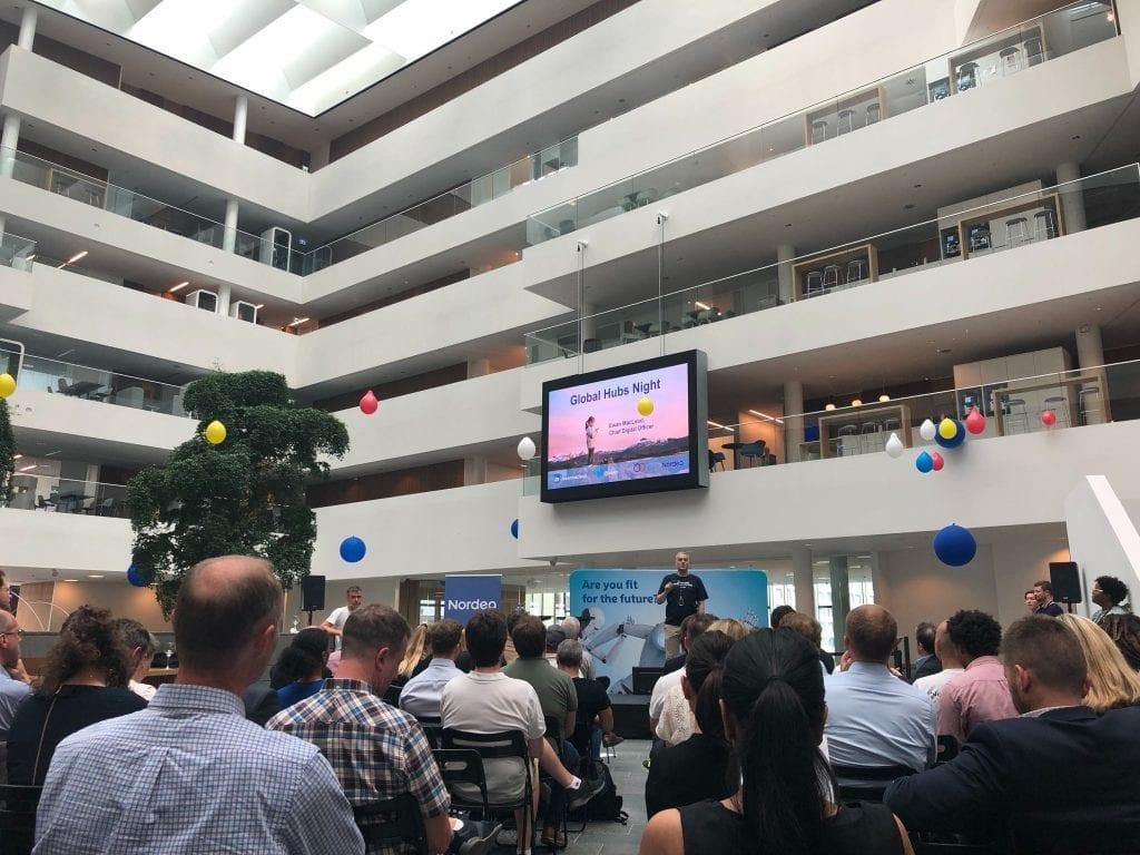 Bankify Pitching At Nordea HQ